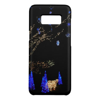 Winter Wonderland Lights Blue and White Holiday Case-Mate Samsung Galaxy S8 Case