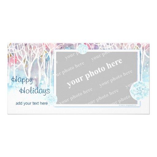 Winter Wonderland Customized Photo Card