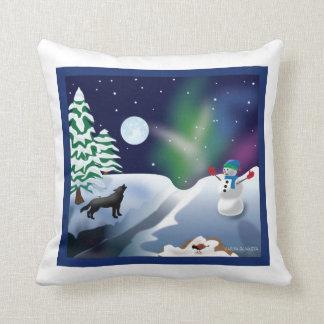 Winter wonderland pillow