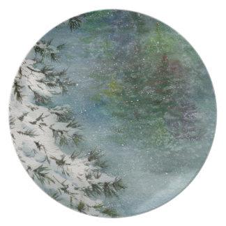 Winter Wonderland Plate