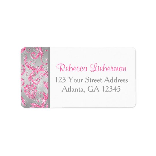 Winter Wonderland Return Address Label
