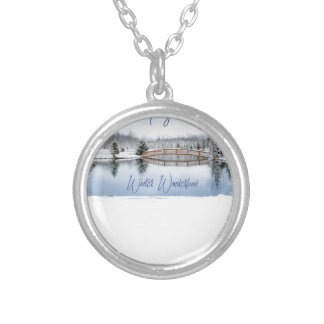 Winter Wonderland Silver Plated Necklace