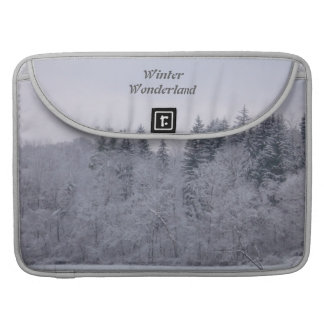 Winter Wonderland Sleeve For MacBook Pro