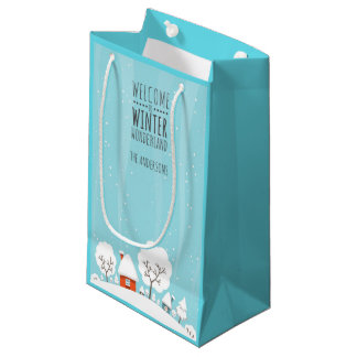 Winter Wonderland Small Gift Bag