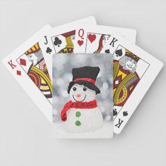 Winter Wonderland Snowman Playing Cards