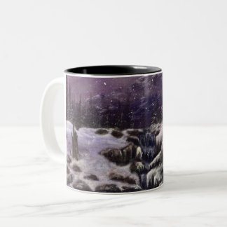 Winter Wonderland Two-Tone Coffee Mug