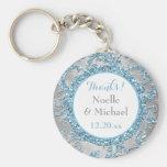 Winter Wonderland Wedding Favour Key Chain 2
