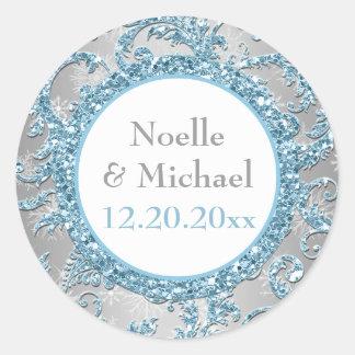 Winter Wonderland Wedding Sticker 5