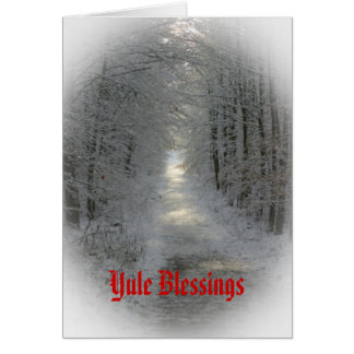 Winter Wonderland Yule/Solstice Cards