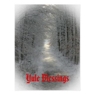 Winter Wonderland Yule Winter Solstice Post Cards