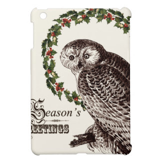 winter woodland owl case for the iPad mini