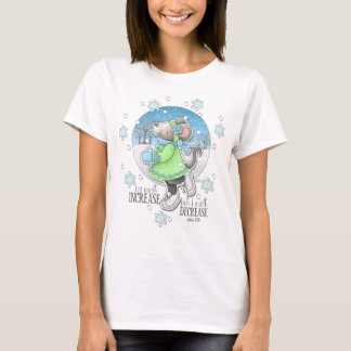 Winter Workout Mouse T-shirt