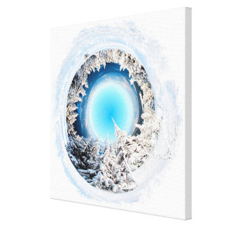 Winter World 2 Gallery Wrapped Canvas