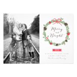 Winter Wreath by Origami Prints Photo Cards