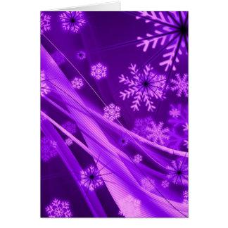 Winterberry Wonderland Snowflakes Greeting Cards