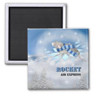 Winterland Journey Magnet