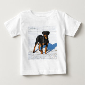 Winterland Rottweiler Baby T-Shirt