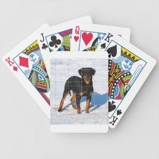 Winterland Rottweiler Poker Deck