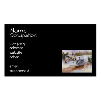 Winter's Dream Business Card Template