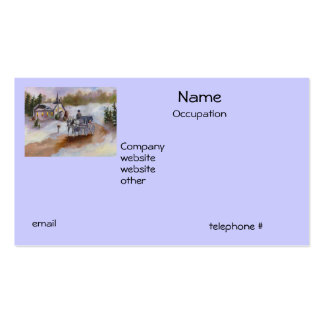 Winters Dream Business Cards