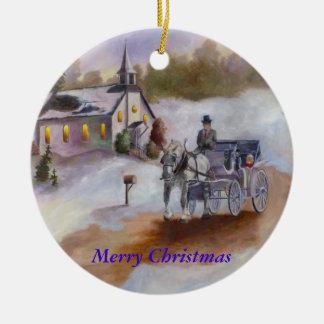 Winters Dream Christmas Ornament