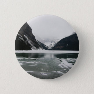 Winter's End, Lake Louise 6 Cm Round Badge