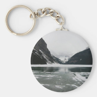 Winter's End, Lake Louise Key Ring