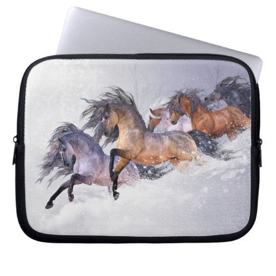 Winter's Flight Laptop Sleeve