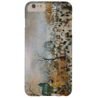 Winters Landscape With Ice Skaters c1608 Hendrick Barely There iPhone 6 Plus Case