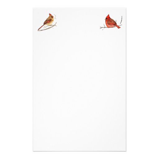 Winter's Red mate, Winter's Red Customized Stationery
