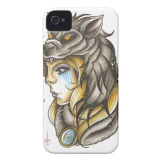 Winter's Wolves iPhone 4 Case