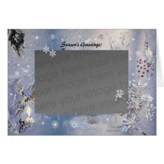 Winterscape Holiday Template! Card