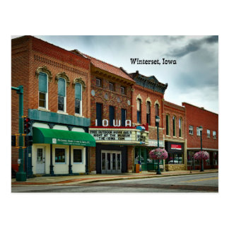 Winterset, Iowa Postcard