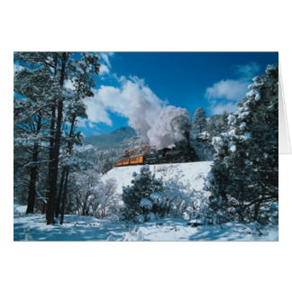 Wintertime Steam Card