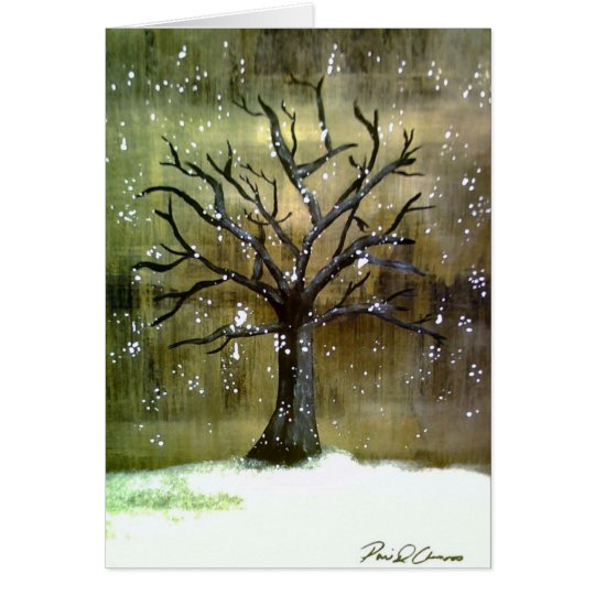 Wintertree Greeting Card