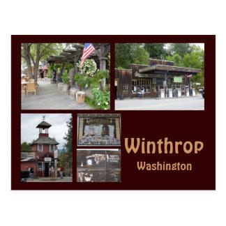 Winthrop Collage 1 Postcard