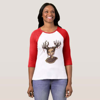 Wintry Christmas Woodland Elf T-Shirt