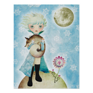 Wintry Prince Canvas Print