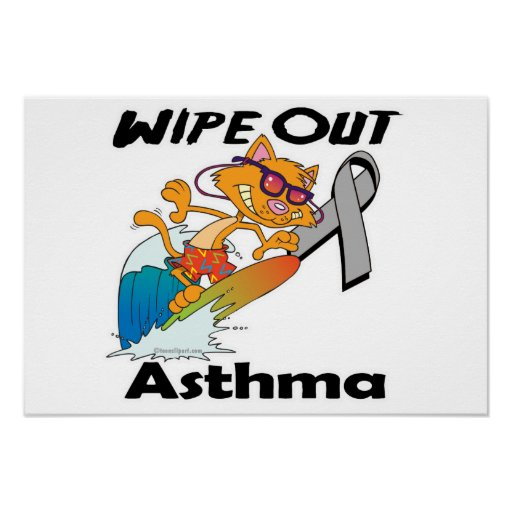Wipe Out Asthma Print
