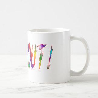 Wipe Out Basic White Mug
