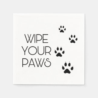 Wipe Your PAWS Disposable Serviette