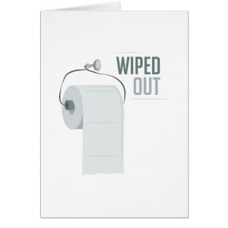 Wiped Out Card