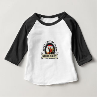 wipes away my tears baby T-Shirt
