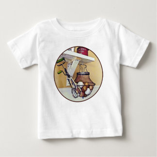 Wire Basket Of Eggs And Egg Beater Baby T-Shirt