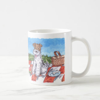 Wire Fox Summer 11oz White Mug