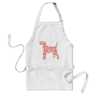 Wire Fox Terrier Adult Apron