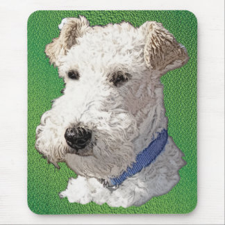 Wire Fox Terrier Art Mouse Pad