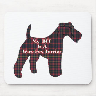 Wire Fox Terrier BFF Gifts Mouse Mats