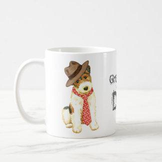 Wire Fox Terrier Dad Coffee Mug