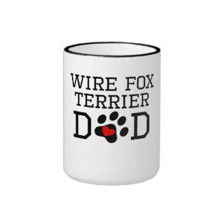 Wire Fox Terrier Dad Coffee Mugs
